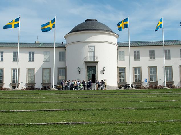 Sjöhistoriska museets fasad