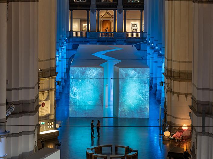 Utställningen Arktis på Nordiska museet